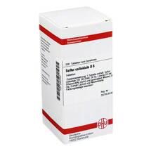 Produktbild Sulfur colloidale D 6 Tabletten