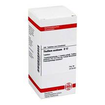 Thallium aceticum D 12 Tabletten