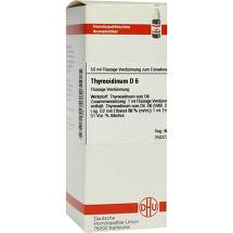 Thyreoidinum D 6 Dilution