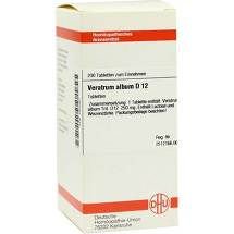Produktbild Veratrum album D 12 Tabletten