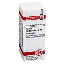 Produktbild Zincum metallicum D 12 Globuli