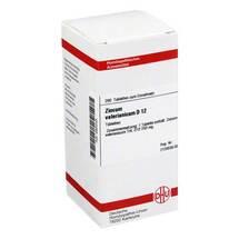 Produktbild Zincum valerianicum D 12 Tabletten