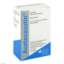Acetocaustin Lösung