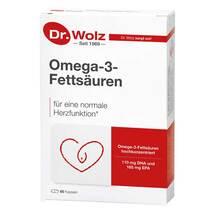 Produktbild Omega 3 Fettsäuren 500 mg / 60% Kapseln