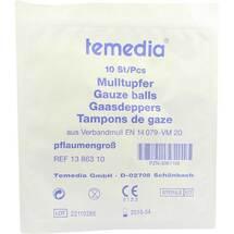 Produktbild Mulltupfer pflaumengroß steril