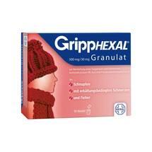 Gripphexal 500 mg / 30 mg Granulat zur Herstellung einer Suspension zum Einnehmen