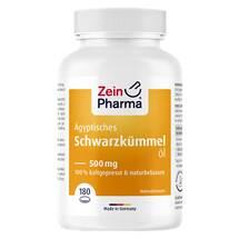 Produktbild Ägyptisches Schwarzkümmelöl Kapseln 500 mg