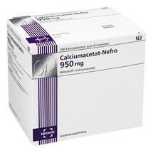 Produktbild Calciumacetat Nefro 950 mg Filmtabletten