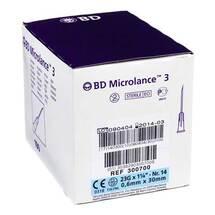 BD Microlance Kanüle 23 G 1 1 / 4 0,6x30 mm