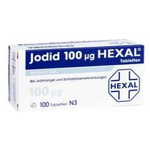 Produktbild Jodid 100 Hexal Tabletten