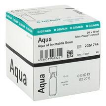 Aqua AD Injectabilia Miniplasco connect Injektionslösung