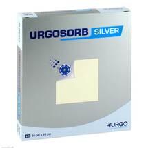 Urgosorb Silver 10x10 cm Kompressen