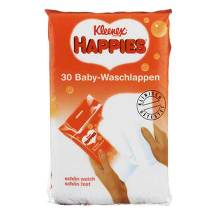 Produktbild Kleenex Happies Baby Waschtücher