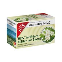 H&S Weißdornblätter mit Blüten Filterbeutel
