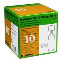 Natriumchlorid 10% Braun Mpc Infusionslösung -Konzentrat
