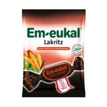 Produktbild Em-eukal Hustenbonbons Lakritz zuckerhaltig