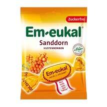 Produktbild Em-eukal Hustenbonbons Sanddorn zuckerfrei