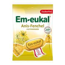 Em-eukal Halsbonbons Anis Fenchel zuckerfrei