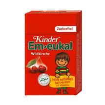 Kinder Em-eukal Hustenbonbons Wildkirsche zuckerfrei Pocketbox