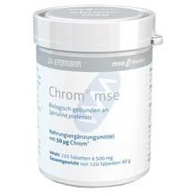 Produktbild Chrom III Mse 50 µg Tabletten