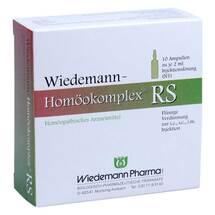 Produktbild Wiedemann Homöokomplex RS Ampullen