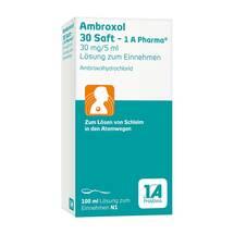 Ambroxol 30 Saft 1A Pharma