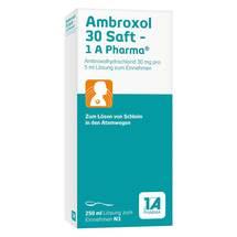 Produktbild Ambroxol 30 Saft 1A Pharma