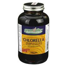 Produktbild Chlorella Greenvalley 200 mg Tabletten