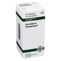 Produktbild Aconitum Pentarkan Tabletten