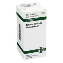 Hepar sulfuris Pentarkan Tabletten