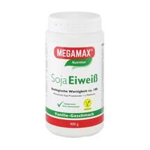 Produktbild Megamax Soja Eiweiß Vanille Pulver