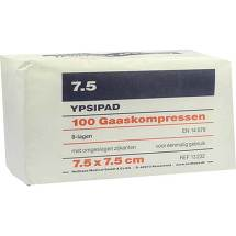 Produktbild Mullkompressen Ypsipad 7,5x7,5 cm unsteril 8-fach