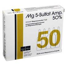MG 5 Sulfat Ampulle 50% Infusionslösungskonzentrat
