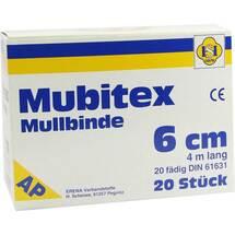 Produktbild Mubitex Mullbinden 6cm ohne