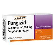 Produktbild Fungizid ratiopharm 200 mg Vaginaltabletten