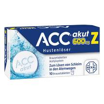 Produktbild ACC akut 600 Z Hustenlöser Brausetabletten