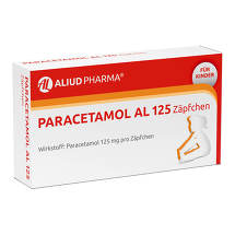 Paracetamol AL 125 Säuglings-Suppositorien