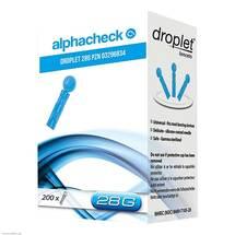 Alphacheck droplet Lanzetten 28 G