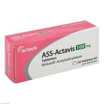 ASS Actavis 100 mg Tabletten