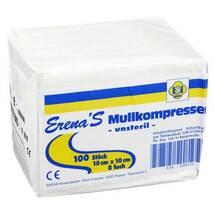 Erena Unsteril Mullkompresse 10x
