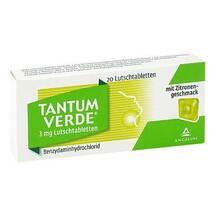 Produktbild Tantum Verde 3 mg mit Zitronengeschmack Lutschtab.