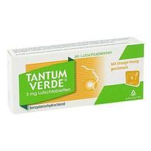 Tantum Verde 3 mg Lutschtabletten mit Orange-Honiggeschm.