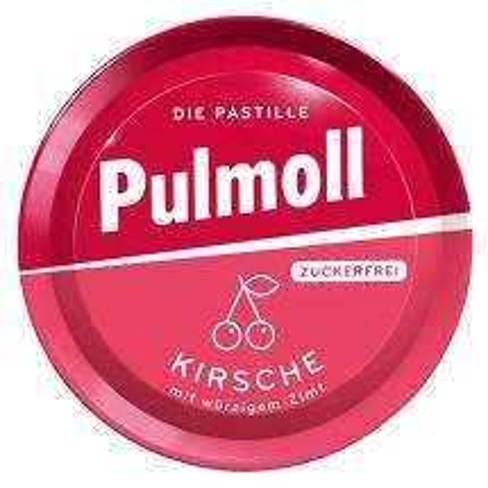 Pulmoll Hustenbonbons Wildkirsche + Vitamin C zuckerfrei