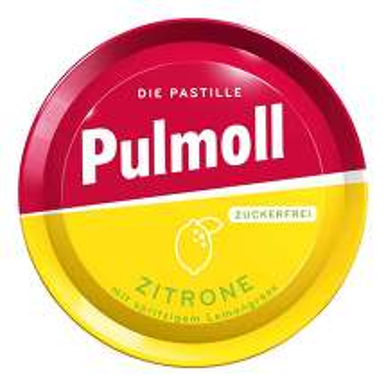 Produktbild Pulmoll Hustenbonbons Zitron