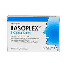 Produktbild Basoplex Erkältungs-Kapseln