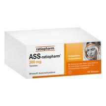 Produktbild ASS Ratiopharm 300 mg Tabletten