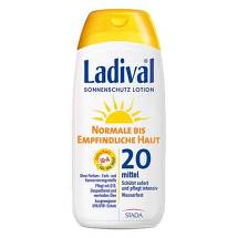 Ladival normale bis empfindliche Haut Lotion LSF 20