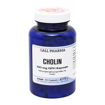 Produktbild Cholin 100 mg GPH Kapseln