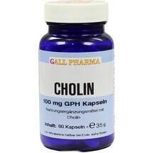 Cholin 100 mg GPH Kapseln