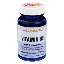 Vitamin B2 GPH 1,6 mg Kapseln